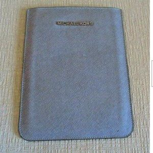 Michael Kors Tablet or E-Reader Sleeve NEW Silver